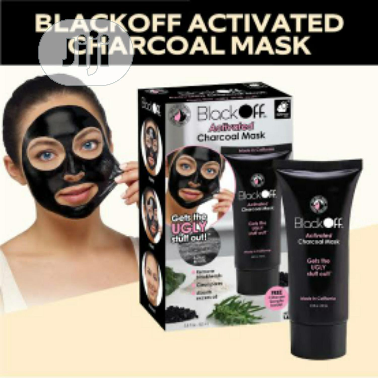 Blackoff Activated Charcoal Mask