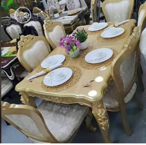 Gold Royal Sofa Sets By 6 Seaters | Furniture for sale in Lagos State, Lekki