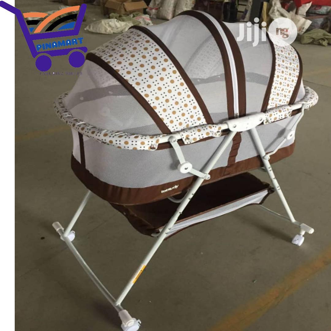 Graceland 3 In 1 Baby Bassinet With Storage Basket