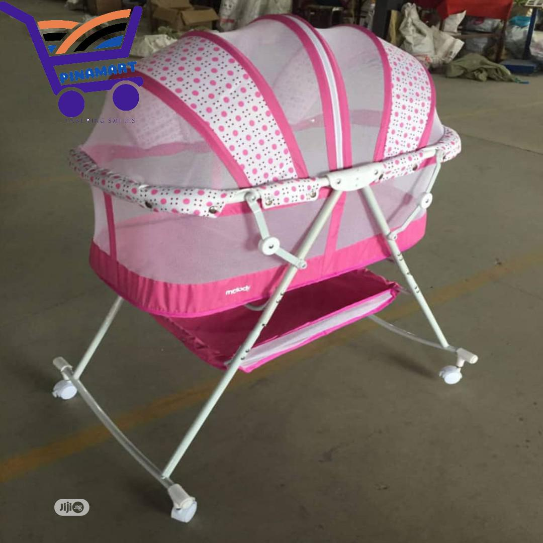 Graceland 3 In 1 Baby Bassinet With Storage Basket   Children's Furniture for sale in Central Business Dis, Abuja (FCT) State, Nigeria