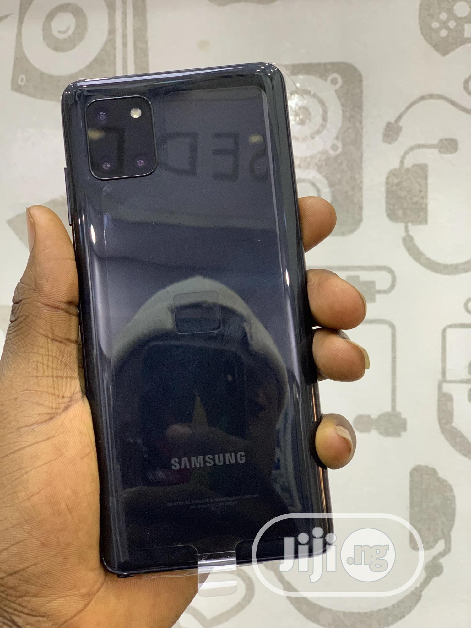 Archive: Samsung Galaxy Note 10 Lite 128 GB Black