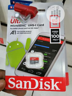 512gb Sandisk Ultra Micro SD   Accessories for Mobile Phones & Tablets for sale in Lagos State, Ikeja