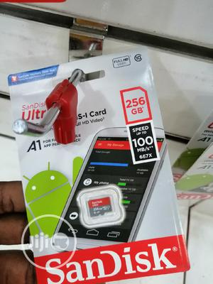 Ultra 256gb Sandisk Micro Sd Card | Accessories for Mobile Phones & Tablets for sale in Lagos State, Ikeja