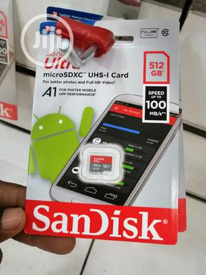 Ultra 512gb Sandisk Micro Sd Card   Accessories for Mobile Phones & Tablets for sale in Lagos State, Ikeja