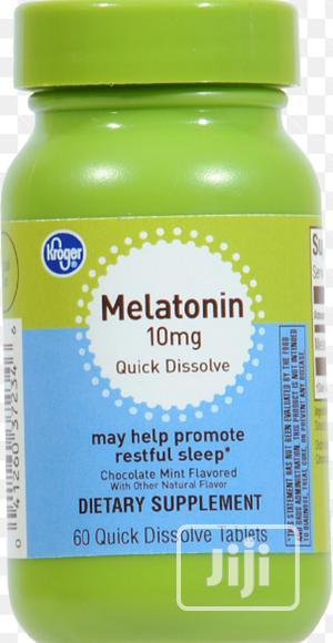 Kroger Melatonin Sleep Support Capsules 10mg | Vitamins & Supplements for sale in Lagos State, Ojo