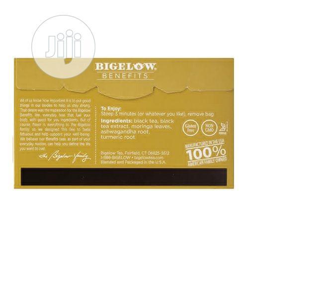 Bigelow Benefits Moringa & Black Tea, 18 Count   Meals & Drinks for sale in Amuwo-Odofin, Lagos State, Nigeria