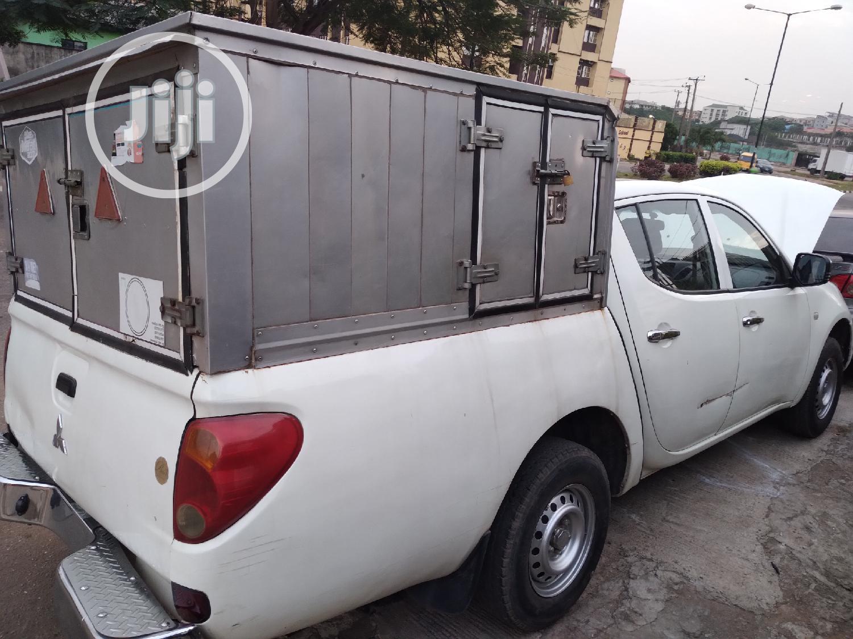 Mitsubishi L200 2014 White   Cars for sale in Ikeja, Lagos State, Nigeria