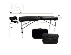 Double Fold Aluminum Massage Bed | Sports Equipment for sale in Lagos State, Ikeja