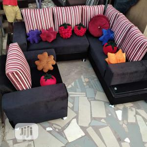 Modern Design L Shape With Single   Furniture for sale in Lagos State, Ibeju