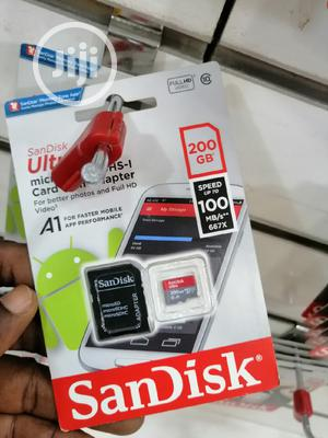 Ultra Sandisk Micro Sd Card 200gb | Accessories for Mobile Phones & Tablets for sale in Lagos State, Ikeja