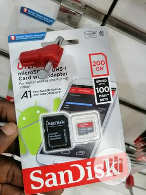 Sandisk Micro Sd 200gb Ultra   Accessories for Mobile Phones & Tablets for sale in Lagos State, Ikeja