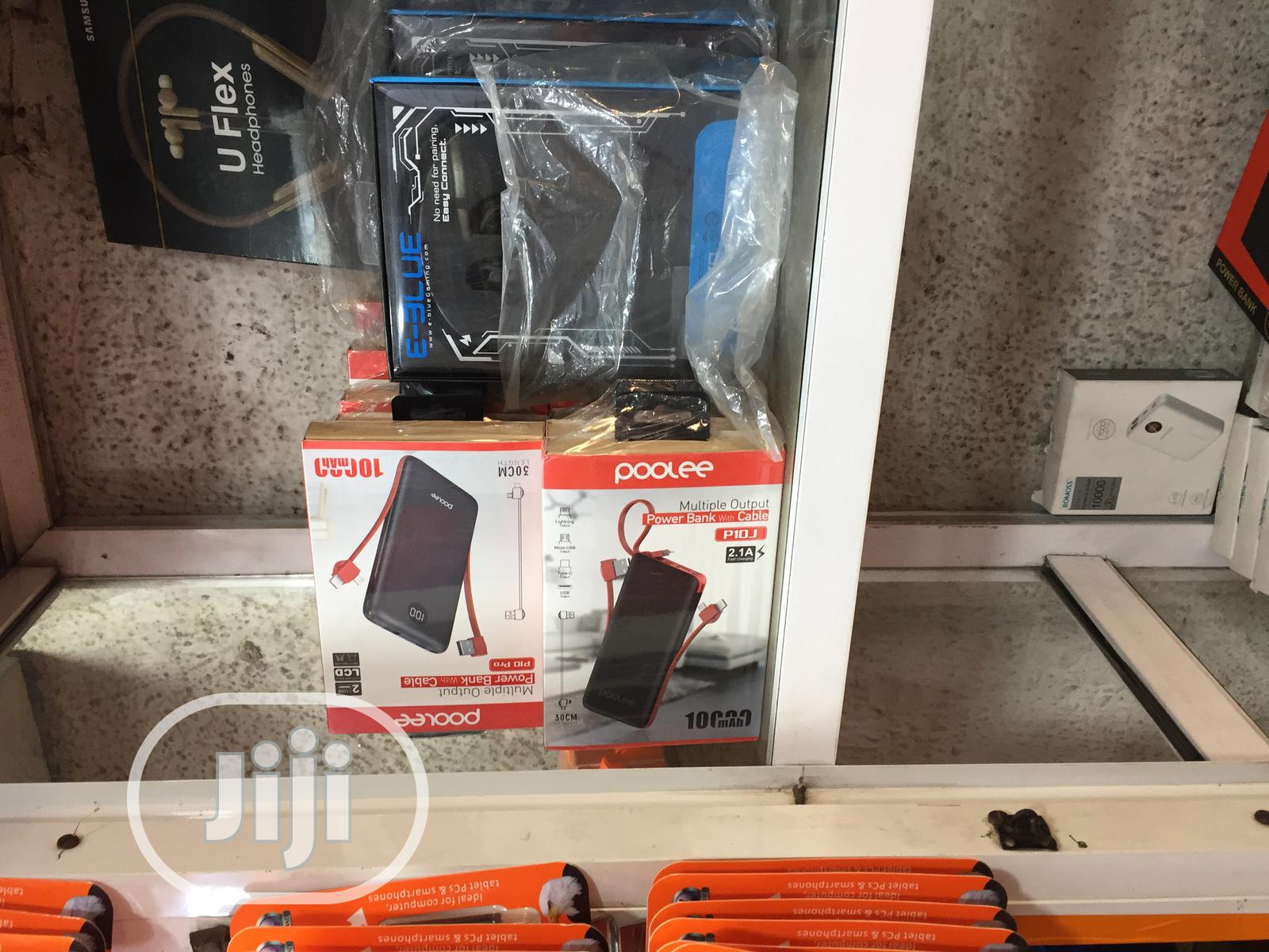 Poolee 10,000mah Multiple Output Powerbank   Accessories for Mobile Phones & Tablets for sale in Ikeja, Lagos State, Nigeria