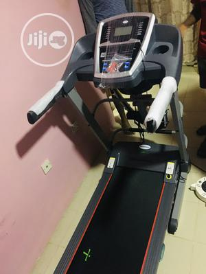 Heavy Duty 2.5hp Treadmill With Massager and Dumbbell | Sports Equipment for sale in Lagos State, Ikoyi