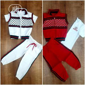 GUCCI 3in1 Track Set | Children's Clothing for sale in Lagos State, Amuwo-Odofin