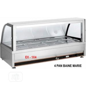 Industrial Electric Heated 4 Pans Bain Marie Showcase   Restaurant & Catering Equipment for sale in Lagos State, Ikeja