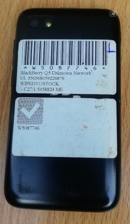 BlackBerry Q5 8 GB Black | Mobile Phones for sale in Mushin, Lagos State, Nigeria