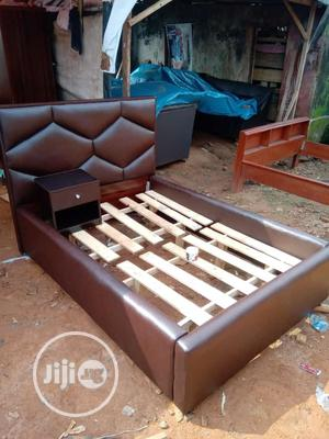 """Modern 4 """"1/2 by 6 Bed Frame   Furniture for sale in Lagos State, Shomolu"""