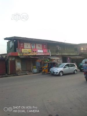 Nine Shop With 3mini Flat 4sale at Jimoh Bustop Shasha Road. | Commercial Property For Sale for sale in Lagos State, Alimosho