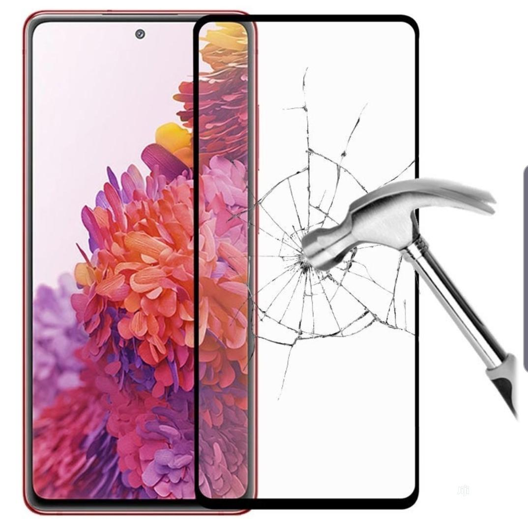 Full Cover Samsung S20 Fe Tempered Glass Screen Protector | Accessories for Mobile Phones & Tablets for sale in Ikeja, Lagos State, Nigeria