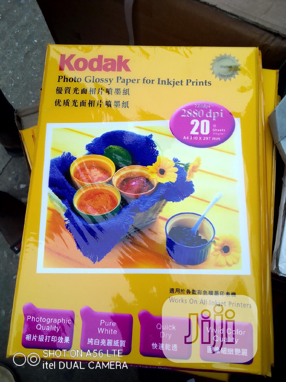 Archive: Kodak A4 Photo Paper