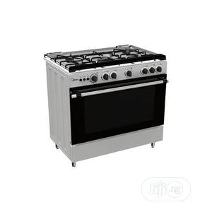 Midea Gas Cooker 90 X 60 Cm, 5 Gas Burners Cooker With Oven   Kitchen Appliances for sale in Oyo State, Ibadan