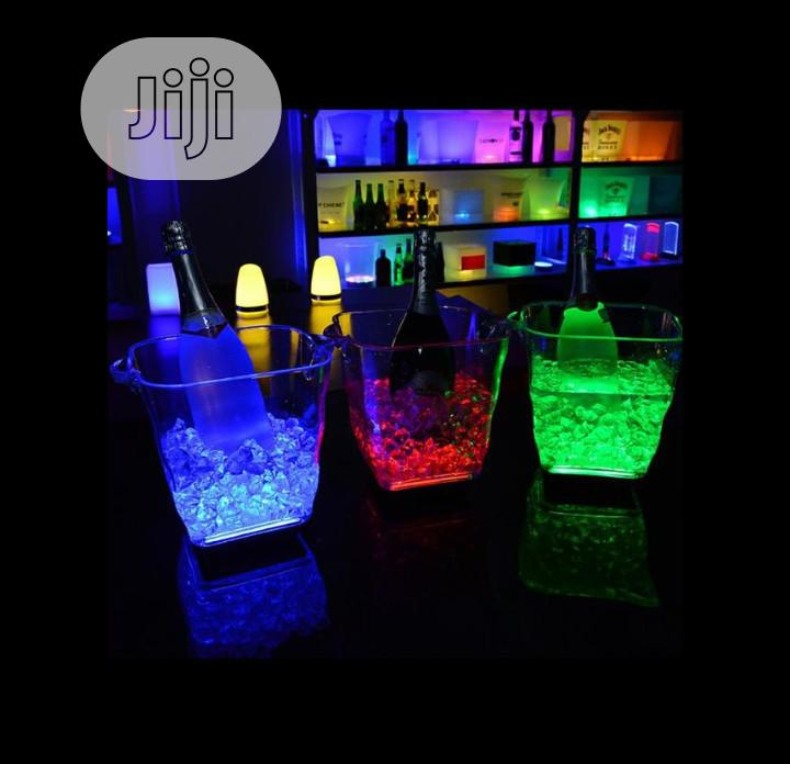 Archive: Rechargeable Led Light Champagne Bucket