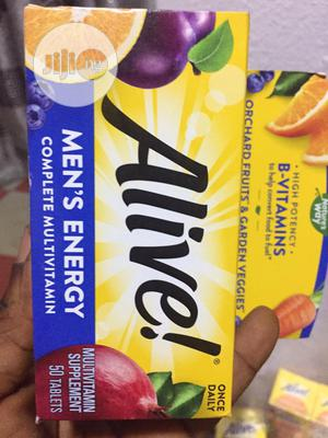 Natures Way Alive Men's Energy Multivitamin X 50 Tablets | Vitamins & Supplements for sale in Lagos State, Ipaja