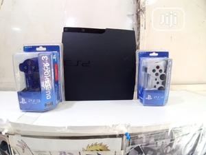 Clean PS3 Slim With 14 Games and 2 Controllers   Video Game Consoles for sale in Lagos State, Surulere