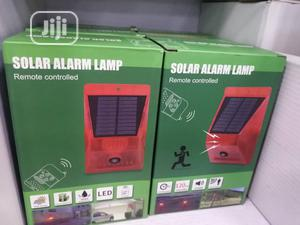 Solar Alarm Light With Motion Dectector | Safetywear & Equipment for sale in Lagos State, Ikeja