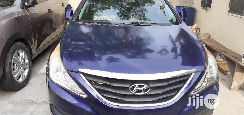 Hyundai Sonata 2014 Blue