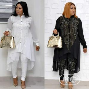 Quality Chiffon Trousers and Top   Clothing for sale in Delta State, Aniocha South