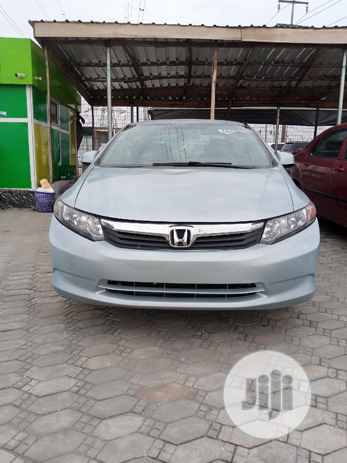 Archive: Honda Civic 2012 DX Sedan Blue
