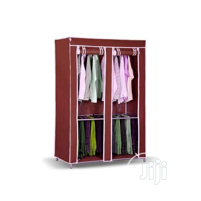 Strong Foldable Frame Mobile Wardrobe Closet N26
