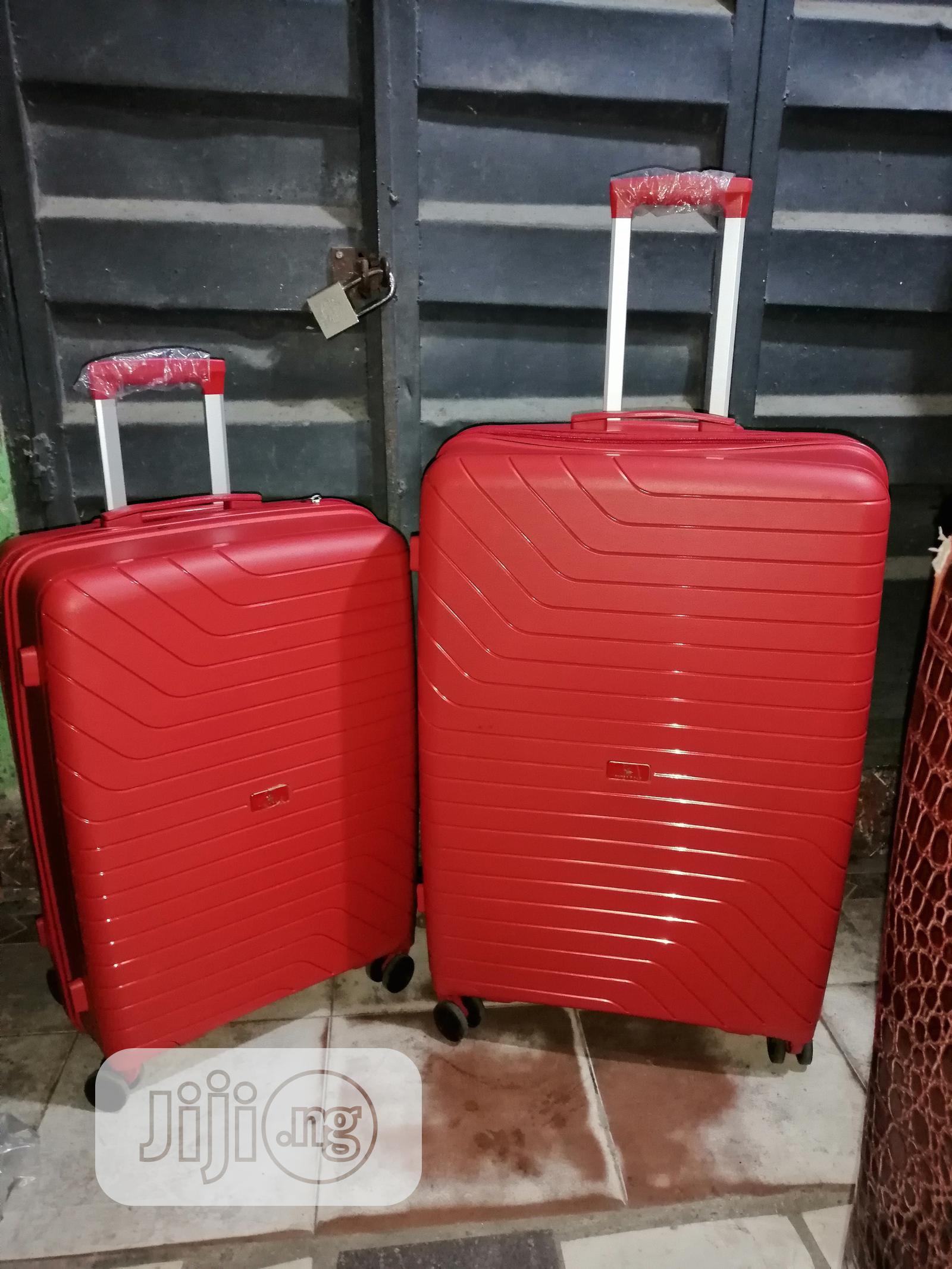 Plastic Travel Travel Trolley Set