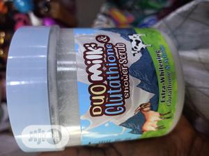 Duo Milk and Glutathione Shower Scrub   Skin Care for sale in Lagos State, Amuwo-Odofin