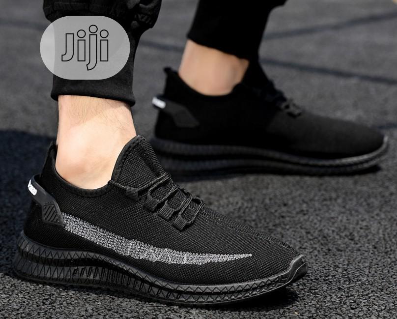 Men Sneakers Shoes - Black