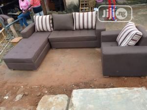 Modern Design L Shape With Single   Furniture for sale in Lagos State, Mushin