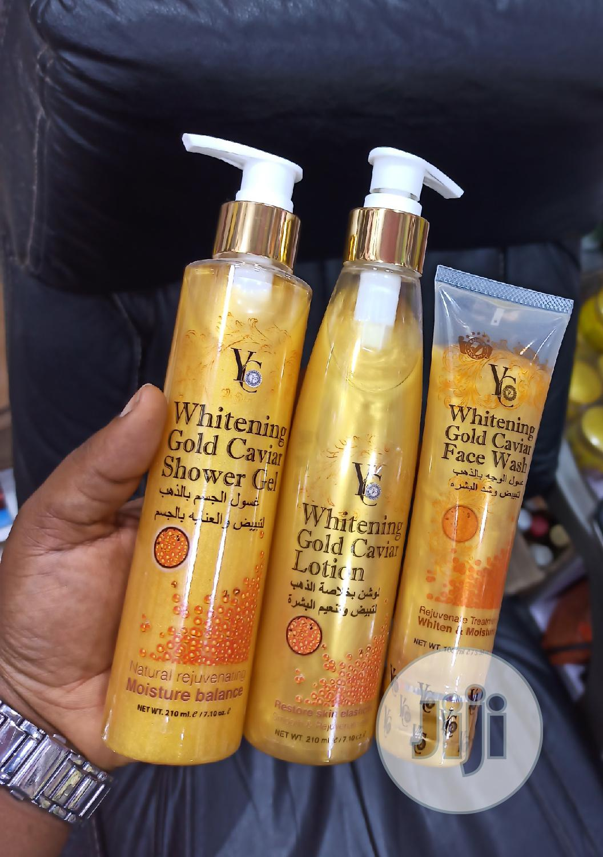 Yc Whitening Gold Caviar Set