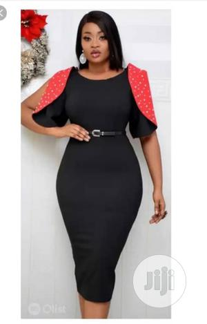 Quality Black and Red Gown   Clothing for sale in Edo State, Ekpoma