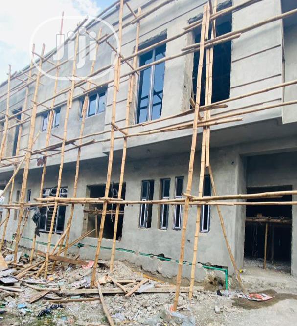 80% Completed 4bedroom Duplex With BQ Land