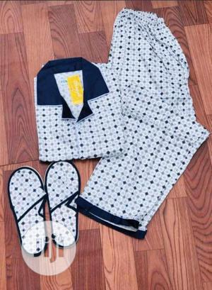 Unisex Pyjamas With Slippers   Clothing for sale in Lagos State, Apapa