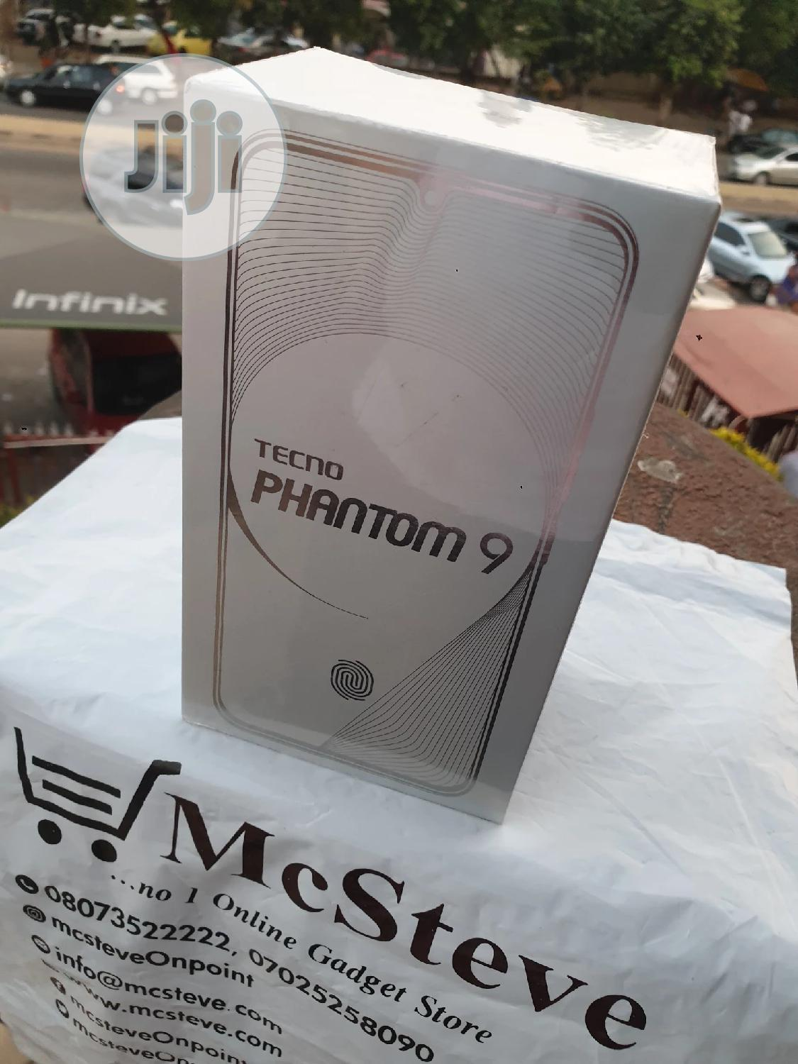 New Tecno Phantom 9 128 GB Blue | Mobile Phones for sale in Wuse 2, Abuja (FCT) State, Nigeria