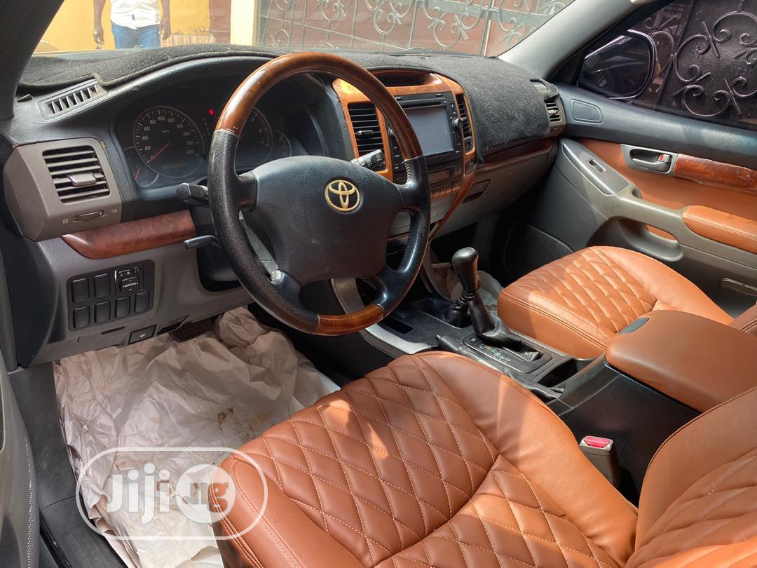 Toyota Land Cruiser Prado 2008 GX Black | Cars for sale in Ikeja, Lagos State, Nigeria
