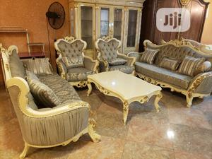 Turkish Royal Sofa Chair With Centre Table   Furniture for sale in Lagos State, Amuwo-Odofin