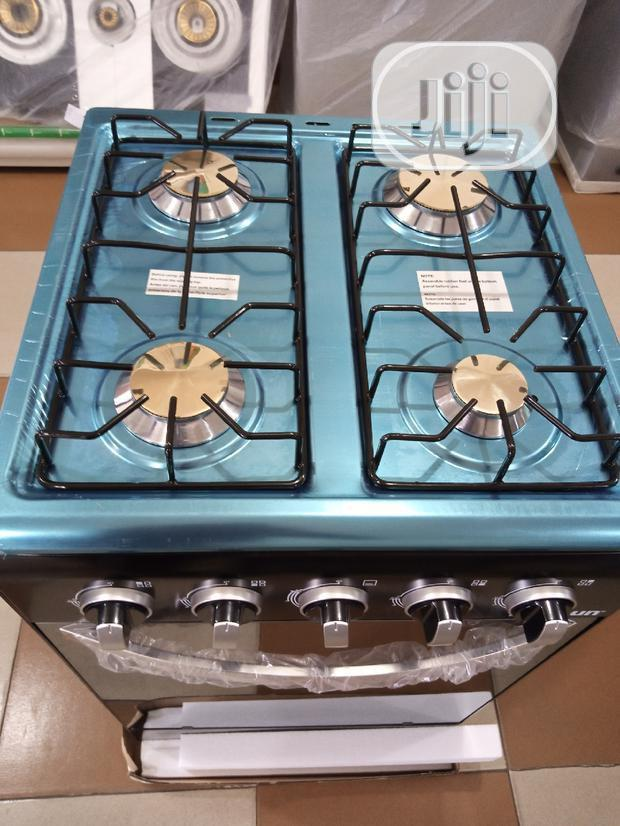 Skyrun Four Gas Cooker With Oven (Ignition)Auto+Anti-Rust | Kitchen Appliances for sale in Ojo, Lagos State, Nigeria
