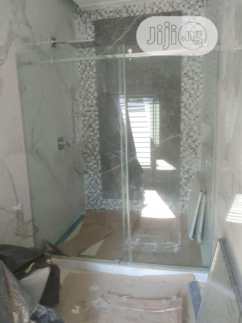 Toilet Shower Glass Cubicle