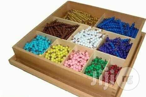 Colour Beads (Montessori Checker Board Beads)