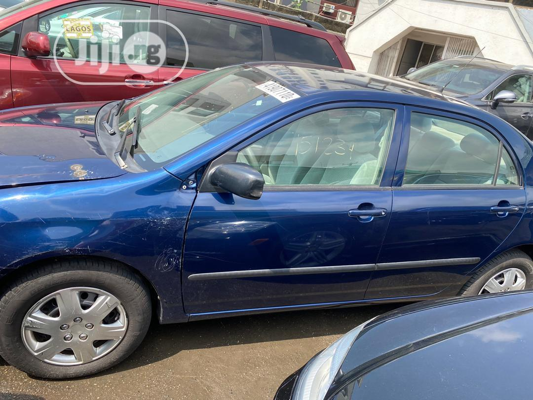 Archive: Toyota Corolla 2007 CE Blue
