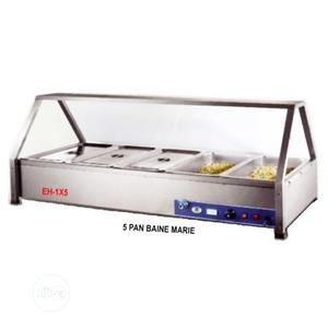 Industrial Electric Heated 5 Pans Bain Marie Showcase   Restaurant & Catering Equipment for sale in Lagos State, Ikeja
