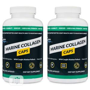 Marine Collagen Caps for Joint Muscles Hair Nails Skin | Vitamins & Supplements for sale in Enugu State, Enugu